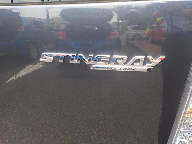 スズキ ワゴンRスティングレー X HID エネチャージ キーレスプッシュスタートシステム