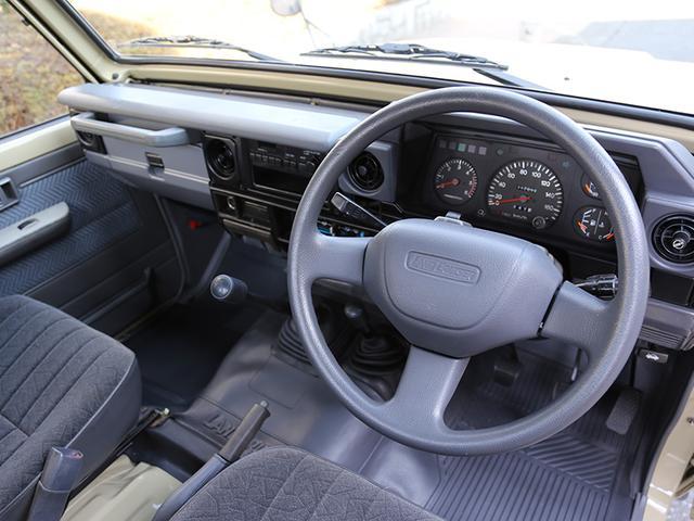 トヨタ ランドクルーザー70 4.2Dシングルピックアップ KCーHZJ75P