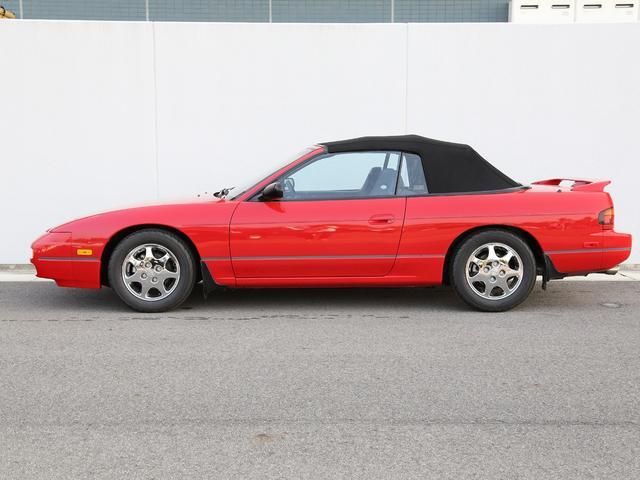 米国日産 米国日産 240SX コンバーチブル最終限定リミテッドED 走行証明