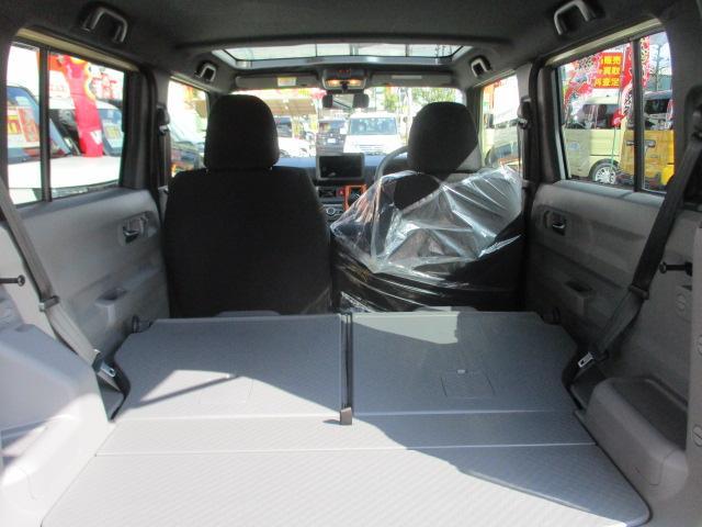 G ガラスルーフ・フードガーニッシュ(メッキ)付・ルーフレール・アイドリングストップ・スマートキー・プッシュスタート・前席シートヒーター・革巻きステアリング・ステリモ・15インチAW・届出済み未使用車(20枚目)