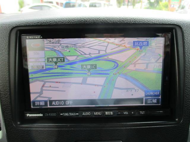 X 社外フルセグナビTV/Bluetooth機能/CD&DVD再生可能/バックカメラ/左パワースライドドア/プッシュスタート/ステアリングリモコン/ロールサンシェード/アイドリングストップ(7枚目)
