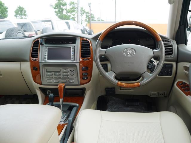 トヨタ ランドクルーザー100 VX-LTD最終型1オーナー 2インチUP 新品アルミセット