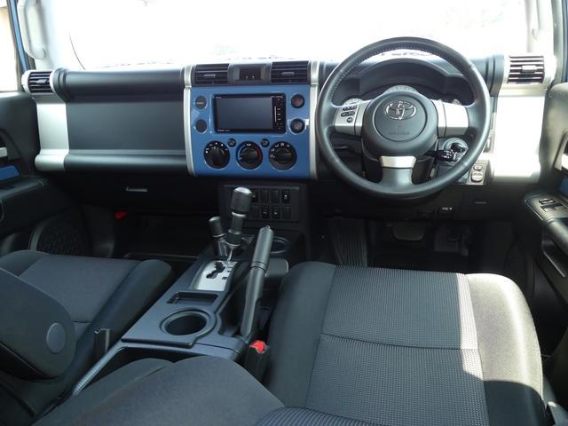 トヨタ FJクルーザー カラーパッケージ 新品タイヤ5本セット 新品ナビ付き