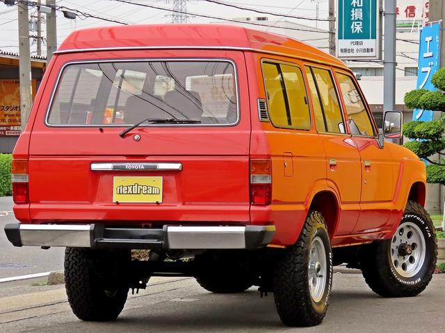 トヨタ ランドクルーザー60 VX ナビ付 丸目換装ナロー仕様 ダッシュ張替 オートマ