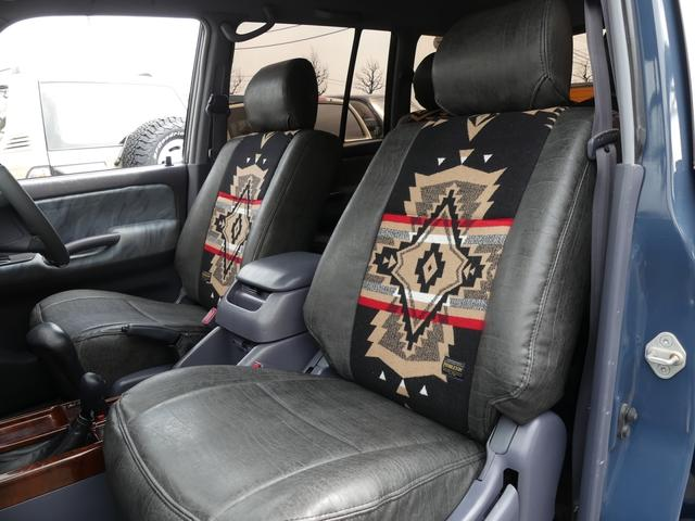TX4WD 丸目換装 新品タイヤセット ペンドルトンシート(2枚目)