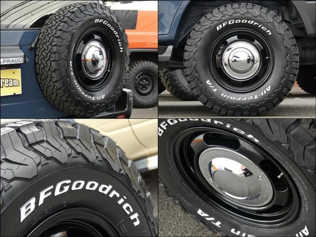 TX4WD 丸目換装 新品タイヤセット ペンドルトンシート(8枚目)