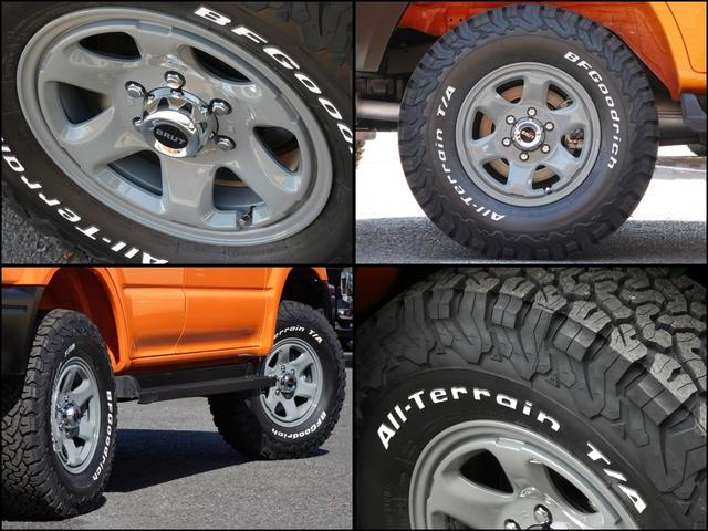 TZ 新品アルミ5本セットBRUT BR44 新品タイヤ BFグッドリッチATタイヤ5本 カロッツェリアナビ バックカメラ ETC2.0ナビ連動品(6枚目)