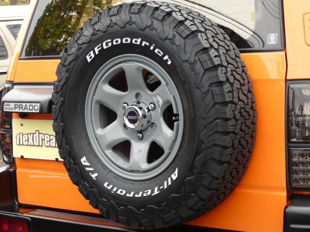 TZ 新品アルミ5本セットBRUT BR44 新品タイヤ BFグッドリッチATタイヤ5本 カロッツェリアナビ バックカメラ ETC2.0ナビ連動品(7枚目)