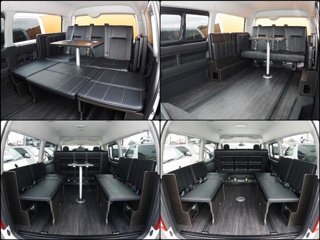 トヨタ ハイエースワゴン GL ライトキャンピングカーFD-BOX4T テーブル付き
