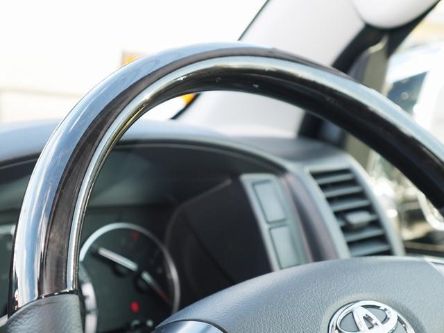 トヨタ ハイエースバン S-GLダークプライム ナビ付カスタム JAOS IPF