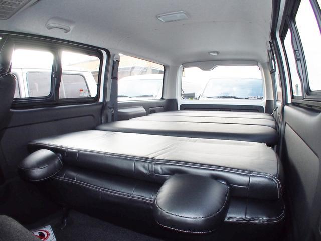 トヨタ ハイエースバン S-GL メーカーオプション込 ベッドキット ナビ ETC