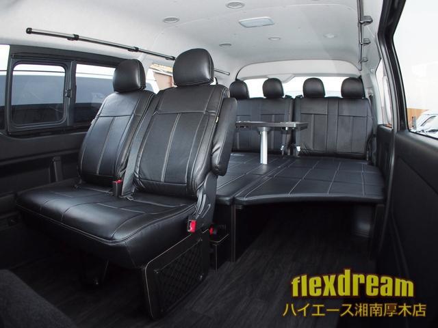 GL・4WD ベッド テーブル 床 ナビ 天吊モニター(2枚目)