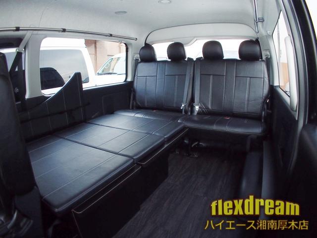 GL・4WD ベッド テーブル 床 ナビ 天吊モニター(6枚目)