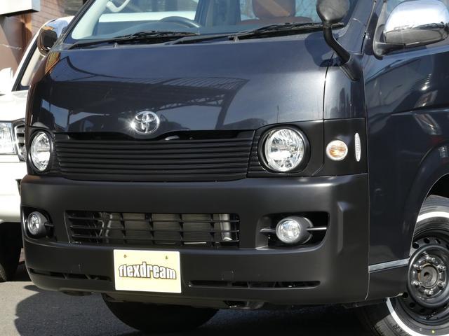 ボクシースタイルの丸目キット&フロントバンパー艶消しブラック塗装済み