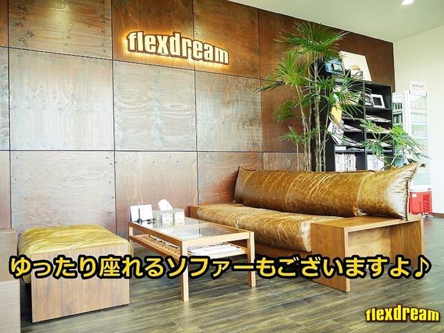 GL 床張り ベッド テーブル付きflexdreamライトキャンピングカーFD-BOX0 BrooklynStyleブラックデニムシートカバー LEDルームランプ アルミ&ナスカータイヤセット(26枚目)