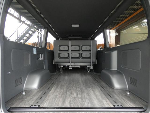 スーパーGL ダークプライム flexdreamライトキャンピングカーFD-BOX5 4ナンバー8人乗り仕様車 後席T-REVOシートダークプライム調縫製仕立て(5枚目)
