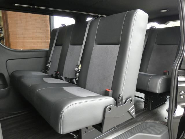 スーパーGL ダークプライム flexdreamライトキャンピングカーFD-BOX5 4ナンバー8人乗り仕様車 後席T-REVOシートダークプライム調縫製仕立て(7枚目)