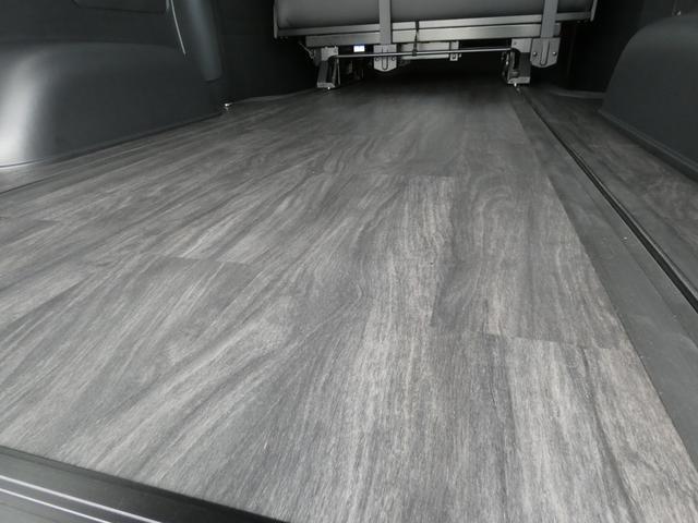 スーパーGL ダークプライム flexdreamライトキャンピングカーFD-BOX5 4ナンバー8人乗り仕様車 後席T-REVOシートダークプライム調縫製仕立て(10枚目)