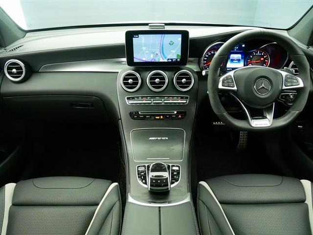 GLC63 S 4MATIC+ 2年保証 新車保証 Bluetooth接続 CD DVD再生 ETC LEDヘッドライト TV アイドリングストップ クルーズコントロール コネクテッド機能 サイドカメラ サンルーフ・ガラスルーフ(12枚目)