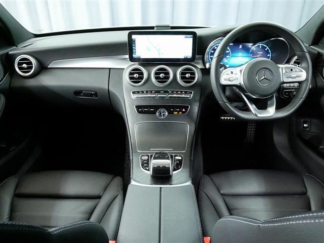 C220 d アバンギャルド AMGライン レザーエクスクルーシブパッケージ レーダーセーフティパッケージ 2年保証 新車保証(12枚目)