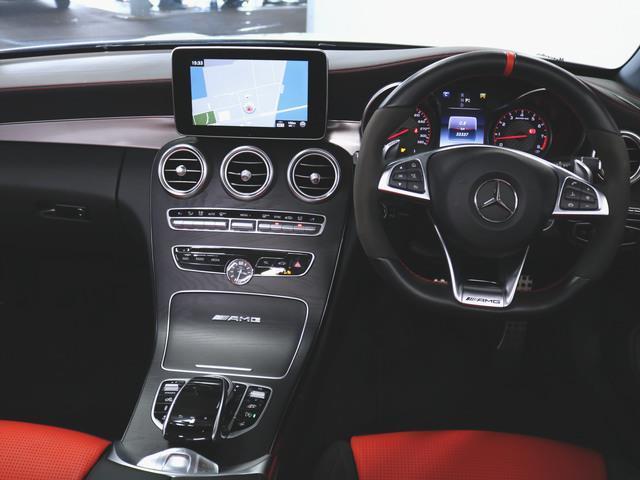 C63 S カブリオレ 2年保証 Bluetooth接続 CD DVD再生 ETC LEDヘッドライト TV アイドリングストップ クルーズコントロール シートヒーター トランクスルー ナビ バックモニター パワーシート(3枚目)