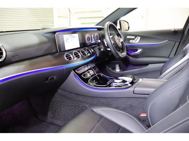 E200 アバンギャルド スポーツ レザーPKG レーダーP Pスタート 黒革 ナビTV ブルメスター 360カメラ LEDヘッドライト 自動トランク 2年保証(7枚目)