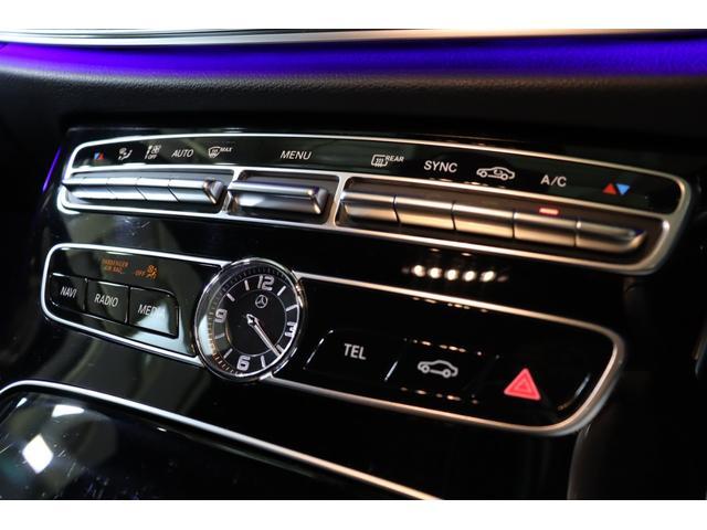 E200 アバンギャルド スポーツ レザーPKG レーダーP Pスタート 黒革 ナビTV ブルメスター 360カメラ LEDヘッドライト 自動トランク 2年保証(19枚目)
