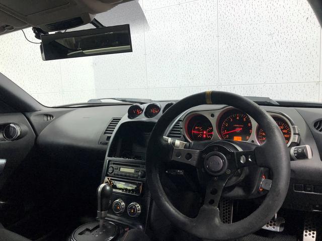 ベースグレード 関東仕入 車高調 社外アルミ18AW 社外マフラー ドライブレコーダー キーレス GTウィング フルバケ(13枚目)