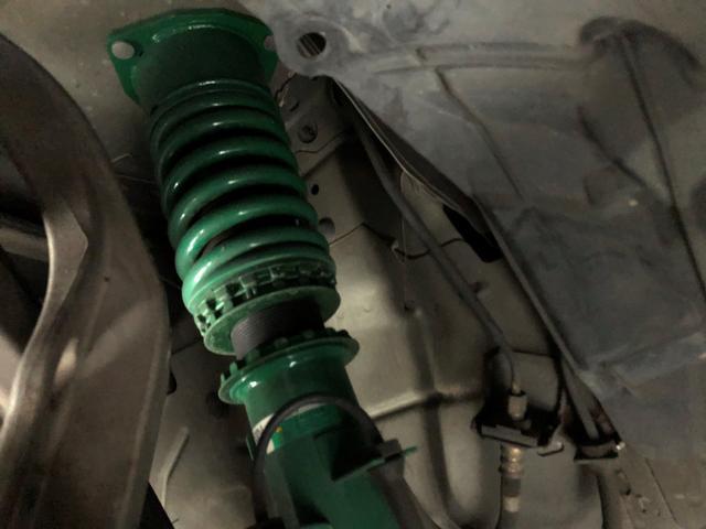 ベースグレード 関東仕入 車高調 社外アルミ18AW 社外マフラー ドライブレコーダー キーレス GTウィング フルバケ(22枚目)