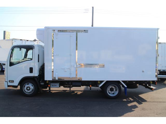 いすゞ エルフトラック 冷蔵冷凍ワイドロングSスライド間仕切り2エバ