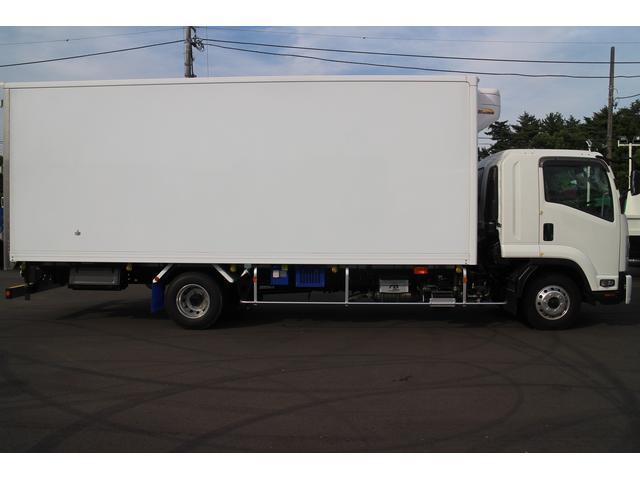 いすゞ フォワード 冷蔵冷凍ワイド6.2mS観音 スタンバイ