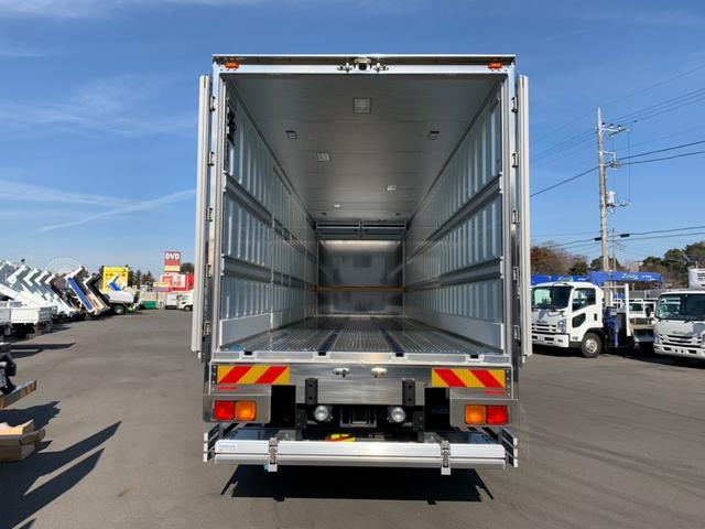 日野 プロフィア 冷蔵冷凍車 スタンバイ ジョロダー4列 格納パワーゲート