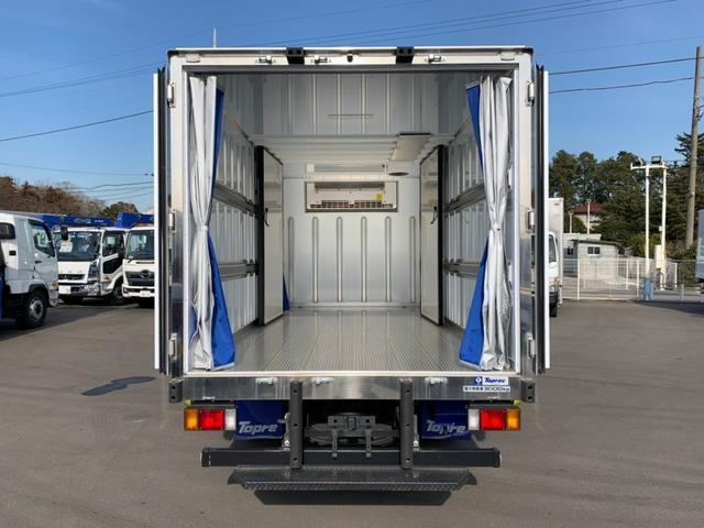 冷蔵冷凍車 ワイドロング サイドスライド 間仕切 ファン(8枚目)