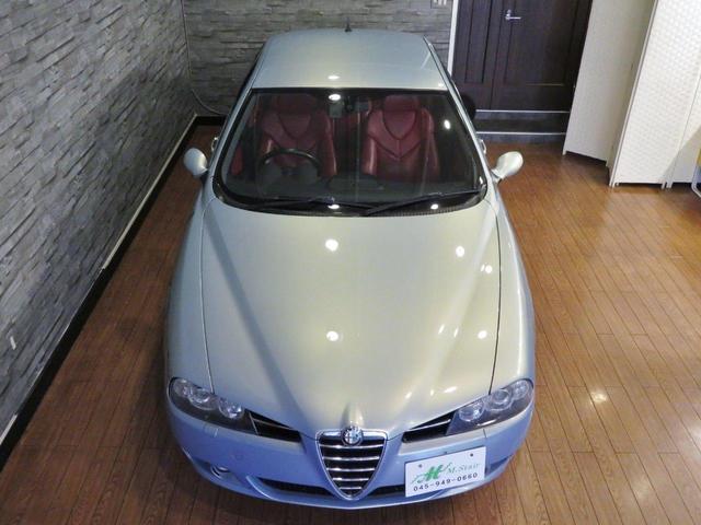 アルファロメオ アルファ156 TI 2.5 V6 24V タイベル交換済 赤レザーシート