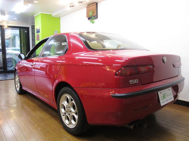 アルファロメオ アルファ156 2.5 V6 24V 社外マフラー 6MT ベージュ革シート