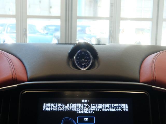 ベースグレード GranLusso 左ハンドル 赤革 ナビ ETC 19AW 新車保証継承(21枚目)