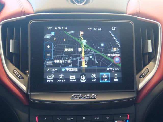 ベースグレード GranLusso 左ハンドル 赤革 ナビ ETC 19AW 新車保証継承(22枚目)