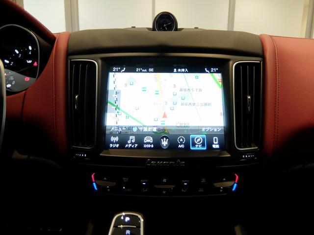 TrofeoV8 左ハンドル 赤革 ナビ ETC 全方位カメラ SR 全席シートヒーター 21AW 新車保証継承(15枚目)