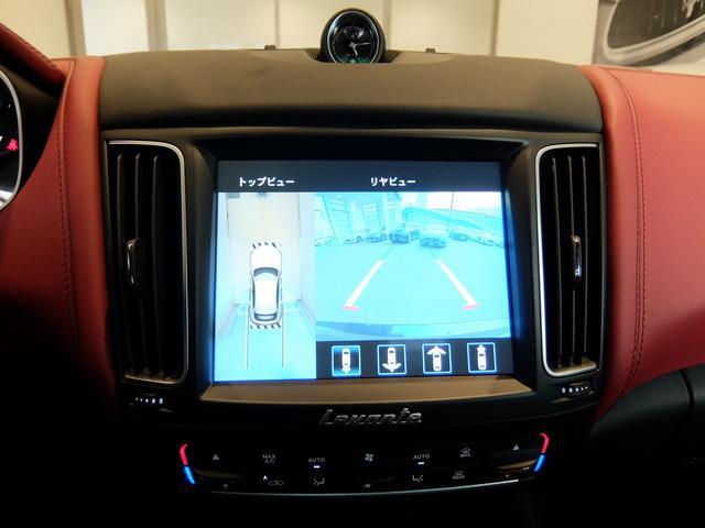 TrofeoV8 左ハンドル 赤革 ナビ ETC 全方位カメラ SR 全席シートヒーター 21AW 新車保証継承(16枚目)