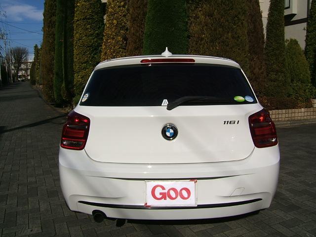 BMW BMW 116iスポーツ8ATターボDOHC 禁煙 ETC 純正AW