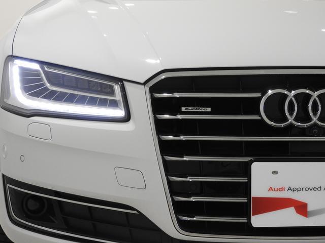 アウディ アウディ A8 4.0TFSIクワトロ シートエアコン プレセンス 認中車