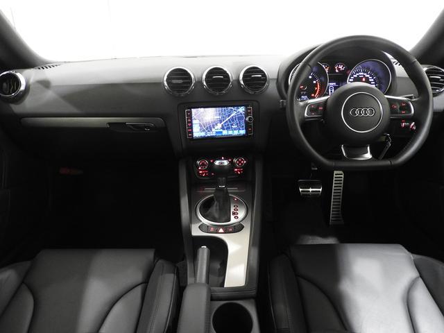 アウディ アウディ TTクーペ 1.8TFSI レザーPKG 電動シート SDナビ 認定中車