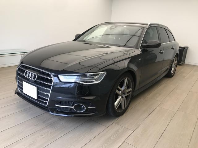 Audi A6 Avant 20 Tfsi Quattro S Line Package 2018 Black