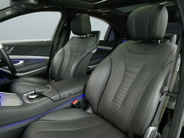 S550 ロング AMGスポーツパッケージ ショーファーパッケージ 1年保証(18枚目)