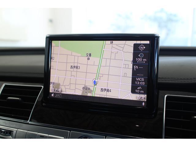 アウディ アウディ A8 4.2FSIクワトロ 革シート バックカメラ ETC