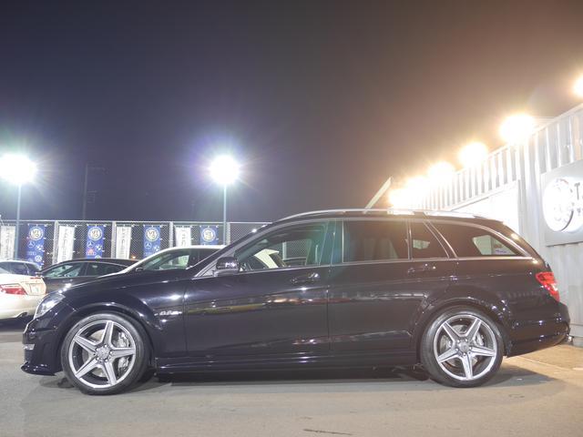 メルセデス・ベンツ M・ベンツ C63AMGワゴン 正規D車 後期 1オナ Pスタ 1年保証