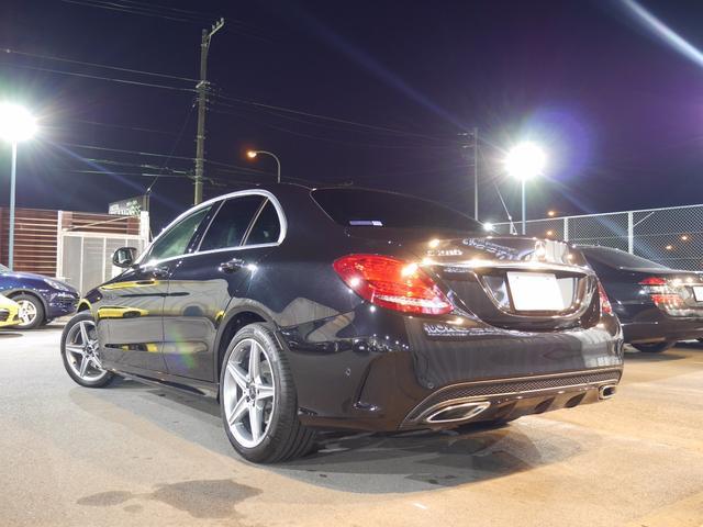 メルセデス・ベンツ M・ベンツ C200AVG AMGライン 1オナ Pスタ 黒革 2年保証
