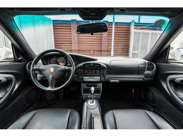 996カレラ 後期 黒革 エアロ 車高調 キセノン 2年保証(4枚目)
