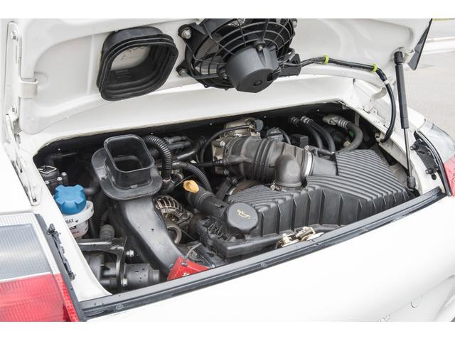 996カレラ 後期 黒革 エアロ 車高調 キセノン 2年保証(6枚目)