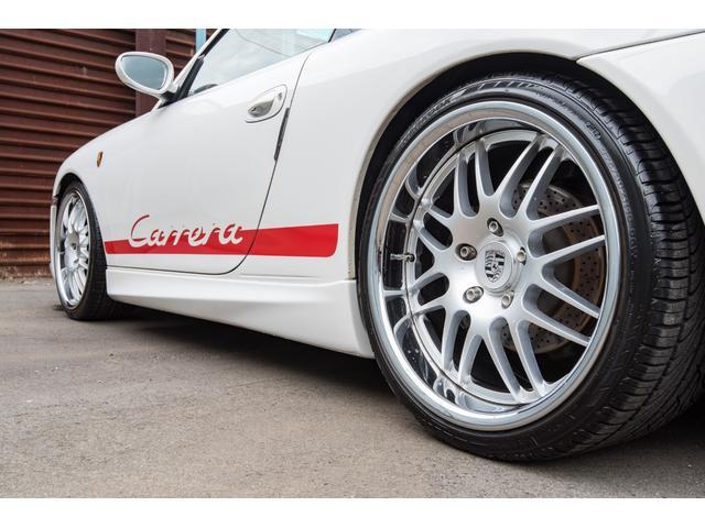 996カレラ 後期 黒革 エアロ 車高調 キセノン 2年保証(13枚目)
